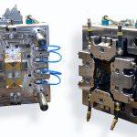 """Bei Milacron wurde eine """"Knitterbox mini"""", ausgestattet mit der FDU-Technologie von Haidlmair, produziert. (Foto: Haidlmair)"""