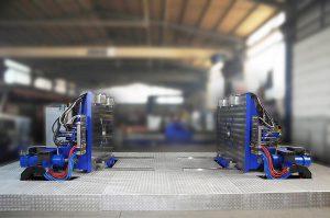Die Werkzeug-Wartungsstationen von Stäubli übernehmen alle Reinigungs-, Inspektions- und Instandhaltungsaufgaben. (Foto: Stäubli)