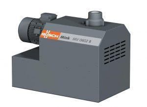 Die Klauen-Vakuumpumpe Mink MV 0602 B ist eine der neuen Basis-Vakuumpumpen für die Kunststoffindustrie. (Abb.: Busch)