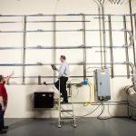 Diese R-Pro-Testanlage ist im Conair Technical Center installiert. (Foto: Conair)