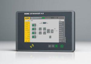 Das intelligente Druckluftmanagementsystem Sigma Air Manager 4.0 (SAM 4.0) sorgt dafür, dass Druckluft immer zuverlässig zur Verfügung steht. (Foto: Kaeser)