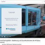 Das Tutorial über die Grundlagen der Bedienung von Spritzgießmaschinen mit der Steuerung NC5/NC5plus ist auf YouTube zu finden. (Quelle: YouTube)