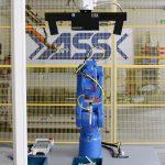 ASS entwickelte eine prozesssichere Lösung für den Griff in die Kiste unter Einsatz der Kameratechnik von Isra Vision und Roboter von Motoman. (Foto: ASS)