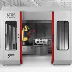 Die 3D-Messmaschine ist in neun Baugrößen für unterschiedliche große Bauteile verfügbar. (Foto: GOM)