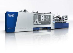 Mit 1,9 s Trockenlaufzeit ist die Elios 7500 die schnellste Spritzgießmaschine in dieser Größenklasse. (Foto: Netstal)