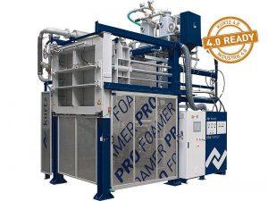Der Formteilautomat Pro Foamer mit Entnahmetechnik ist das Herzstück der Foamer-Familie. (Foto: Kurtz)