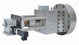 Die Polystream-Baugruppe besteht aus einem Motor, einem Lochscheiben-Siebpaket, einem Linearventil, einem Schmelzerohr, einem Steuerungssystem und einem optionalen Bildschirm. (Foto: Nordson)
