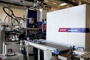 Die SmartPower 180/525H/210L ist erste Maschine dieses Typs in Mehrkomponentenausführung. (Foto: Wittmann)