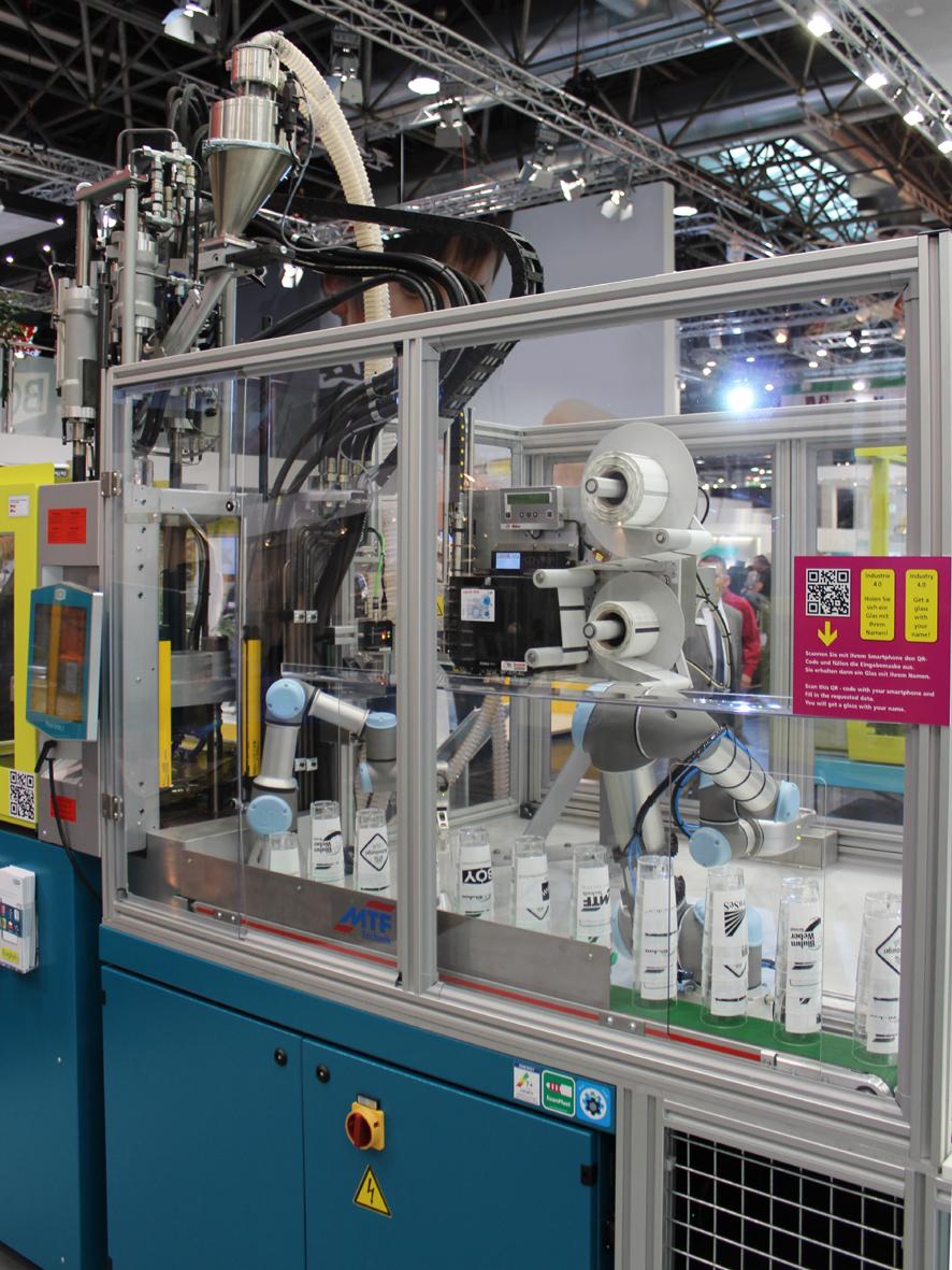 K Che Aktuell Hannover dr boy mit kollaborierenden robotern auf der hannover messe k aktuell de