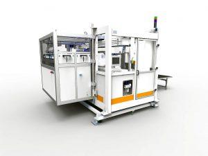 Swiss made 2-Kavitäten-Performance pur: IML-Anlage von Beck Automation für 4 l-Eimer. (Foto: Beck Automation)