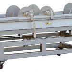 Strangkühlwanne IPS-SKW 600/900 mit integrierter Verschiebeeinrichtung für einen schnellen und kontrollierten An- und Abfahrbetrieb. (Foto: IPS)