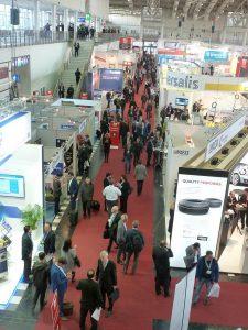 Rund 5.000 Besucher erwartet die Tire Technology Expo. (Foto: K-AKTUELL.de)