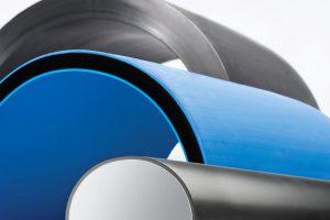 Mit der FDC Linie kann während der Produktion auf andere Rohrdurchmesser und Wandstärken umgestellt werden. (Foto: Battenfeld-Cicinnati)
