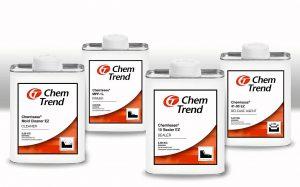 Das neue Etikettensystem mit produktspezifischen Symbolen macht die einzelnen Produkttypen besser unterscheidbar. (Foto: Chem-Trend)