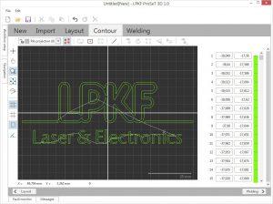 ProSeT 3D generiert optimale Schweißkonturen und -parameter auch für komplexe Konturen. (Abb.: LPKF)