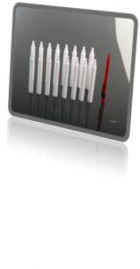 Der Korpus des Faserschreibers wird auf einem 16fach-Werkzeug hergestellt. (Foto: Heitec)
