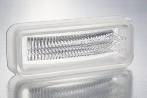 Kfz-Lichtwellenleiter aus Silikon. (Foto: Leonhardt)