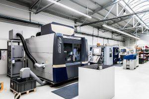 Im Zuge seiner Expansion hat Protosys Rapid Tooling eine weitere 5-Achs-Fräsmaschine in Betrieb genommen. (Foto: Barlog)