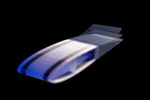 Gedruckte formvariable Flügelhinterkante. (Foto: DLR)