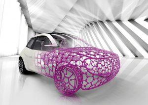 Evonik bietet für den Automotive-Sektor Innovationen in den Bereichen Gewicht, Effizienz, Oberflächen und Licht. (Foto: Evonik)