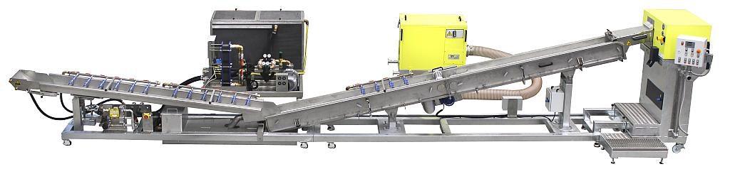 Die automatische Stranggranulieranlage ips-SGA 220/2 ergänzt jetzt das IPS-Technikum. (Foto: IPS)