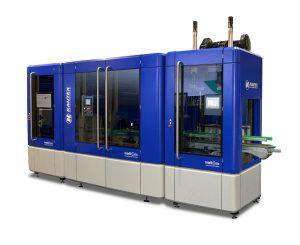 Mit den IntelliGate-Modulen lassen sich die Blasformmaschinen digital vernetzt zu einer vollständigen Fertigungsanlage erweitern. (Foto: Kautex)