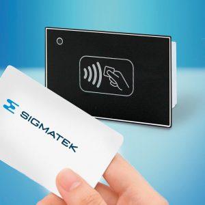 Der RFID 131 sorgt für das fehler- und verwechslungsfreie Identifizieren von Personen, Betriebsmitteln und Produkten. (Foto: Sigmatek)
