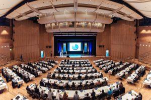 Mit knapp 400 Teilnehmern war die Stadthalle in Aschaffenburg gut gefüllt. (Foto: Ter Plastics)