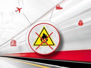 Der nichtbrennbare Faserverbundwerkstoff ist für Anwendungen in zahlreichen Industriebereichen geeignet. (Abb.: CTS)