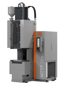 Die MTTF-C 30 mit einem TPE-Plastifizier- und Spritzaggregat nach Maplan-System. (Foto: Maplan)
