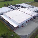 Luftaufnahme des neuen Logistikzentrums. (Foto: Roth Werke)