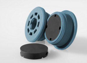 Die Herstellung spritzgegossener Magnete ist im Vergleich zu gesinterten Magneten kostengünstiger und weniger aufwendig. (Foto: Barlog)
