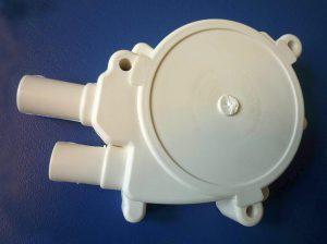 Das GF-verstärkte PVDF ist u. a. für Pumpengehäuse geeignet. (Foto: B. Bigler)