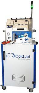 Strahlsystemlösung zur direkten Anbindung an den Roboter. (Foto: Cold-Jet)