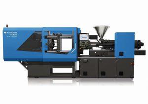 Die Systec Multi deckt alle Varianten der Mehrkomponenten-Spritzgießtechnik ab. Auf der Fakuma zeigt Sumitomo (SHI) Demag die Produktion einer Dekorblende mit zweifelsfreier Rückverfolgbarkeit mithilfe von DMC-Lasermarkierung und MES. (Foto: Sumitomo (SHI) Demag)