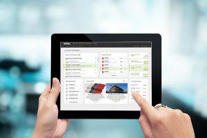 Auf kürzestem Weg in die Engel-Welt: Das Kundenportal e-connect bietet in der neuen Version eine noch übersichtlichere Struktur und weitere Funktionalitäten. (Foto: Engel)