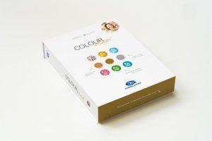 Die neuste Edition der Colour Vision-Serie beinhaltet 18 opake Kunststoff-Farbplättchen mit innovativen Farben und Effekten. (Foto: Gabriel-Chemie)