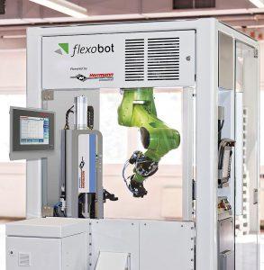 Modulare Roboterzelle mit integriertem Ultraschall-Schweißsystem. (Foto: Herrmann)