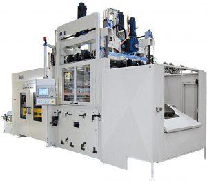 2016 hat das Unternehmen im Vergleich zum Vorjahr über 60 % mehr Plattenformmaschinen ausgeliefert – auf dem Bild eine UA 155 g. (Foto: Illig)