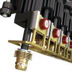 Optimierte Aktivdorne ermöglichen Austausch nahezu ohne Werkzeug und Kraft. (Abb.: KHS)