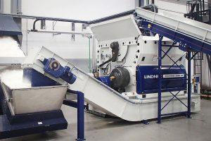 Hochleistungen beim Shreddern versprechen die neuen Modelle der Micromat-Baureihe. (Foto: Lindner)