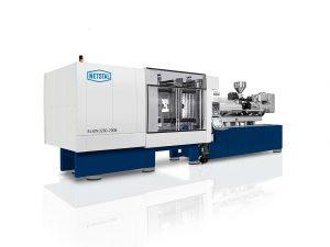 Die Elion-Baureihe mit hybridem Spritzaggregat ist die Basis für die effiziente Produktion von Verschlüssen. (Foto: Netstal)