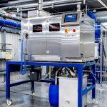Die neue Hochleistungssortiermaschine des Typs PelletSorter DS ist bei Sortco im Einsatz. (Foto: Sortco)