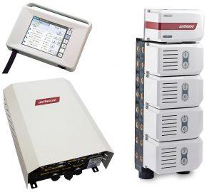 Flowcon-Steuerungseinheit, Masterbox und Flowcon plus bietet Wittmann als Stand-Alone-Variante an. (Foto: Wittmann)