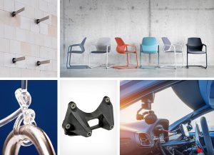 Sitzen, fahren, verpacken, dämmen oder doch lieber angeln? – Die Kunststoffvielfalt der BASF auf der Fakuma. (Fotos: BASF)