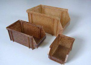 Lagerfachbehälter aus Nature Plastic Compounds. (Foto: CKT)