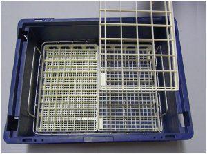 Werkstückträger-System für das Handling rund um den Produktionsprozess. (Foto: Ökoplast)