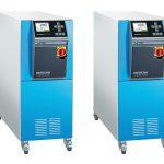 HB-Therm stellt zwei neue Hochtemperatur-Geräte für Wasser bis 200 °C (l.) und bis 230 °C (r.) aus der Serie Thermo-5 vor. (Foto: HB-Therm)