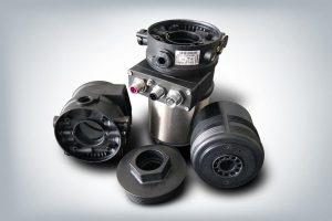 Bürkert Element Ventilsystem mit dezentraler Automatisierung – pneumatischer Antrieb und Automatisierungskomponenten aus Fortron PPS. (Foto: K.D. Feddersen)