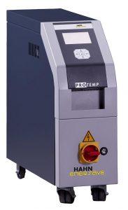 Protemp-Temperiergeräte von Hahn Enersave sind auch am Stand des chinesischen Spritzgießmaschinenherstellers Tederic im Einsatz. (Foto: Hahn Enersave)